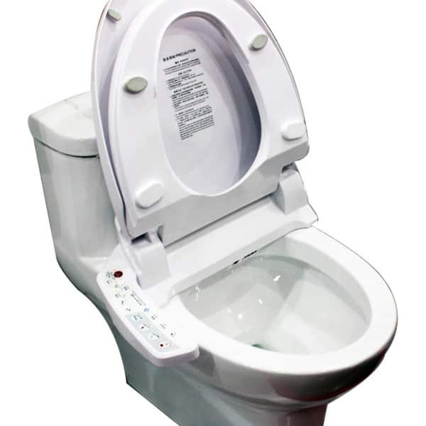 Astounding Shop Bidet4Me E 200A Elongated Electronic Bidet Seat With Creativecarmelina Interior Chair Design Creativecarmelinacom