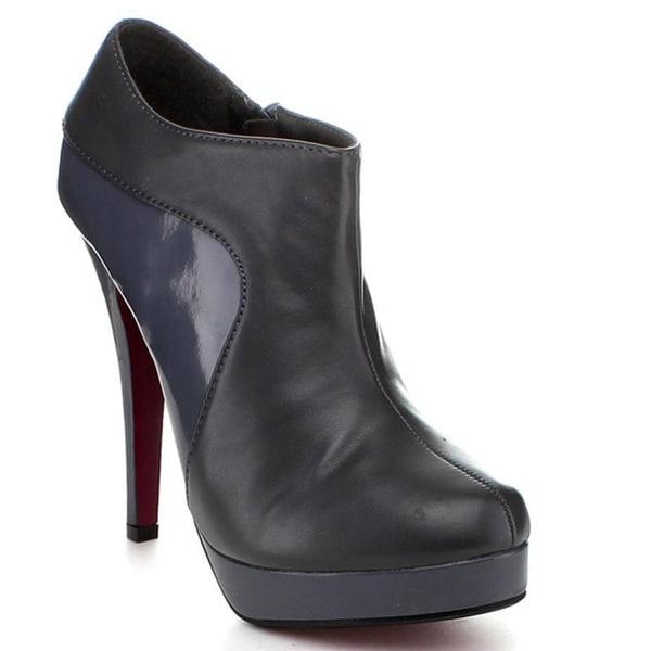 Jacobies by Beston Women's 'Sophia-45' Stiletto Ankle Bootie