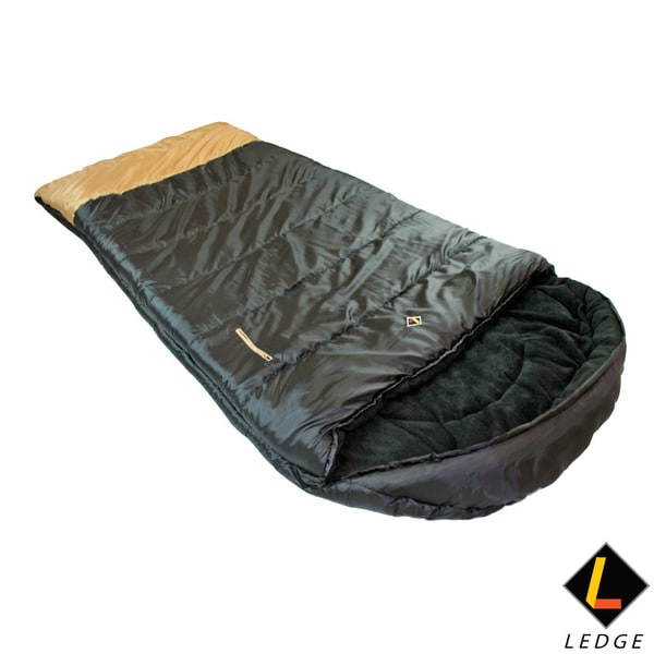 Ledge Big Horn -20 F Degree XL Oversize Fleece Lined Sleeping Bag