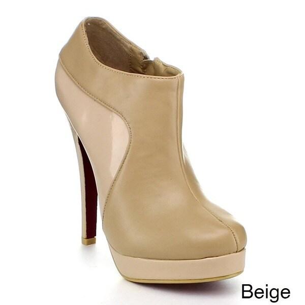 Beston 'Jacobies' Women's Stiletto Ankle Bootie