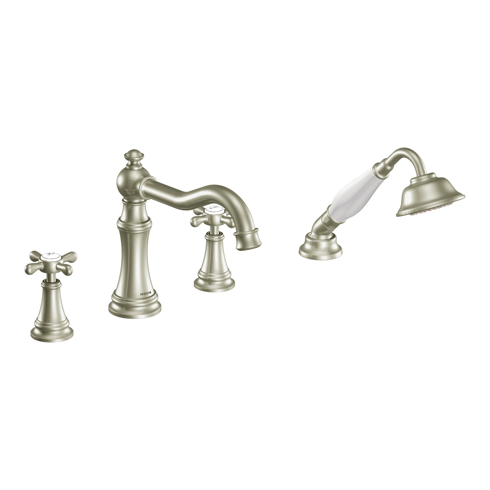 Moen Brushed Nickel Two-handle Tub Faucet