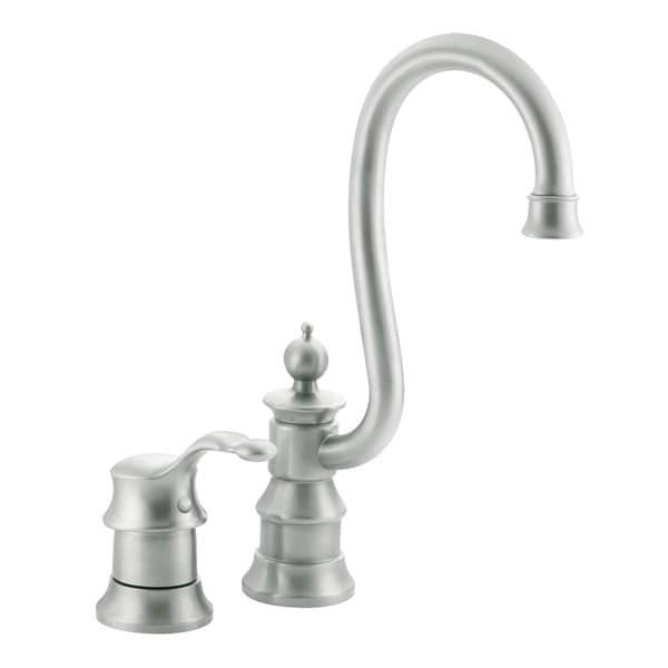 Moen Stainless One-handle High Arc Bar Faucet