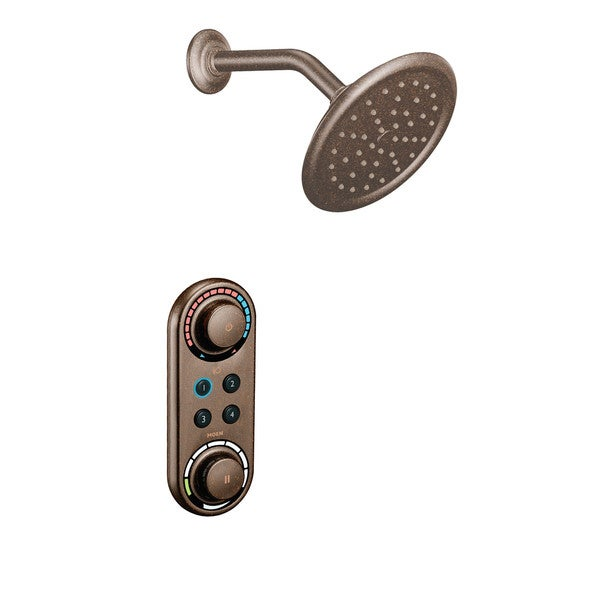 Moen Oil Rubbed Bronze 'Logidigital' Shower