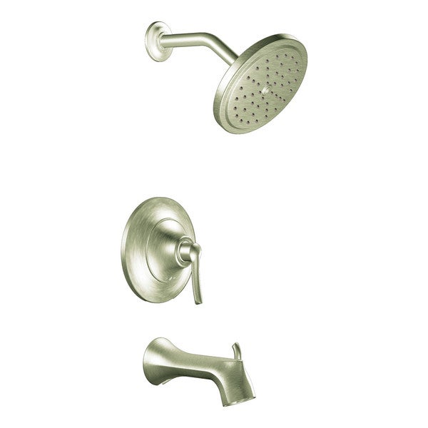 Moen Brushed Nickel Posi-Temp(R) Tub Faucet/ Shower Head