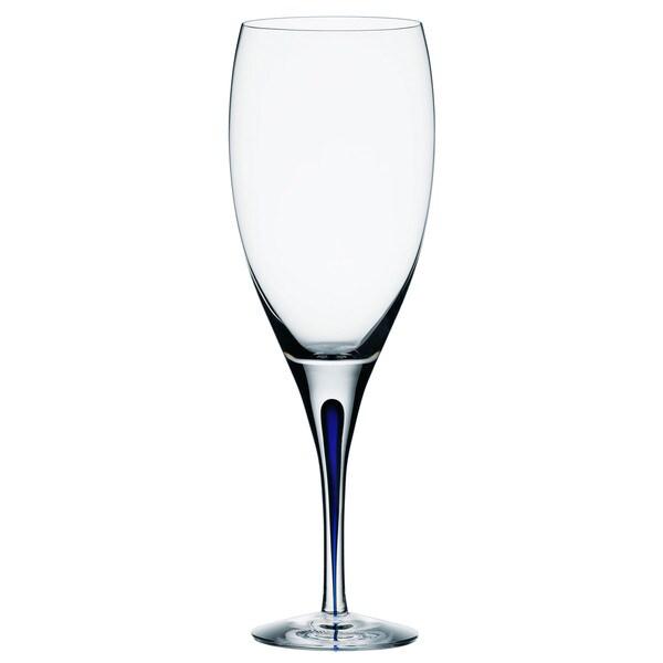Orrefors Intermezzo Blue Goblet