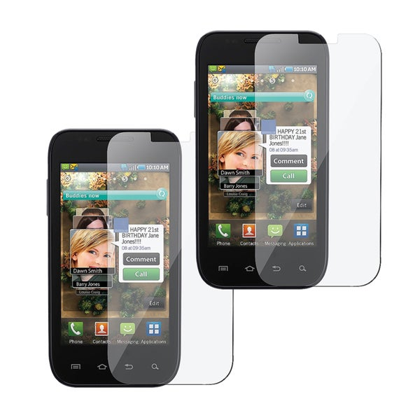 INSTEN Clear Screen Protector for Samsung Galaxy S/ Fascinate (Pack of 2)
