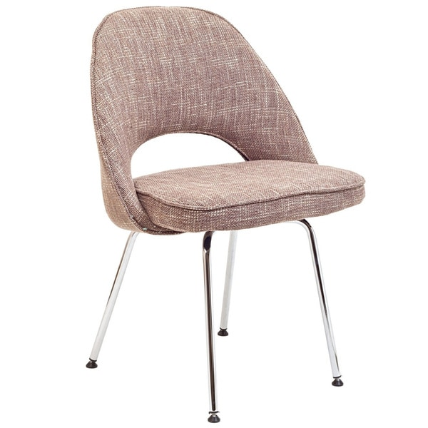 Oatmeal Saarinen Style Side Chair
