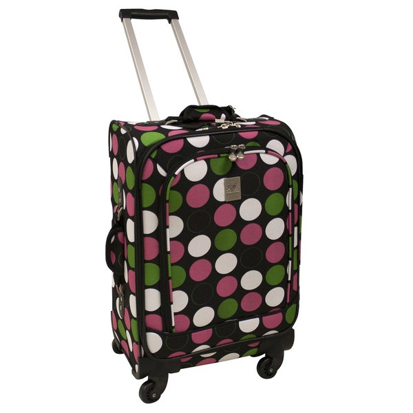 Jenni Chan Multi Dots 21-inch 360 Quattro Carry-on Spinner Upright