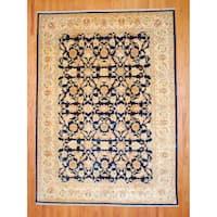 Handmade Herat Oriental Afghan Vegetable Dye Wool Rug - 9'3 x 13' (Afghanistan)