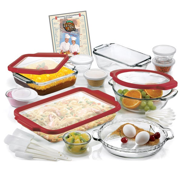 Anchor Hocking 32-piece Bakeware Set