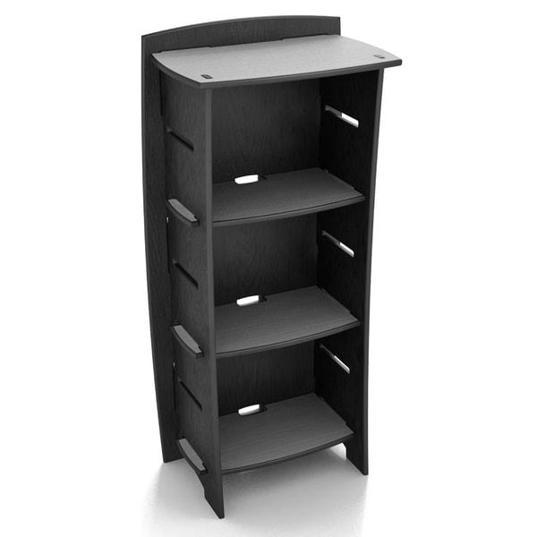 Legare Titanium Black Bookcase (48 x 22)
