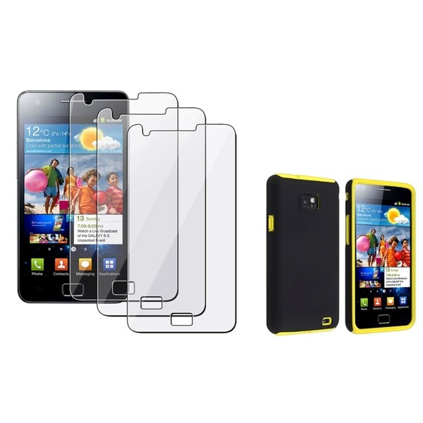BasAcc Hybrid Case/ Screen Protector for Samsung© Galaxy S2 i9100
