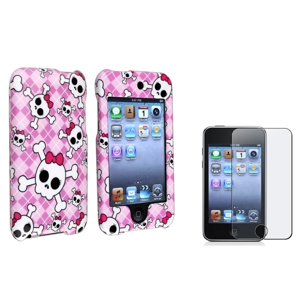 BasAcc Case/ Screen Protector for Apple iPod touch Generation 2/ 3