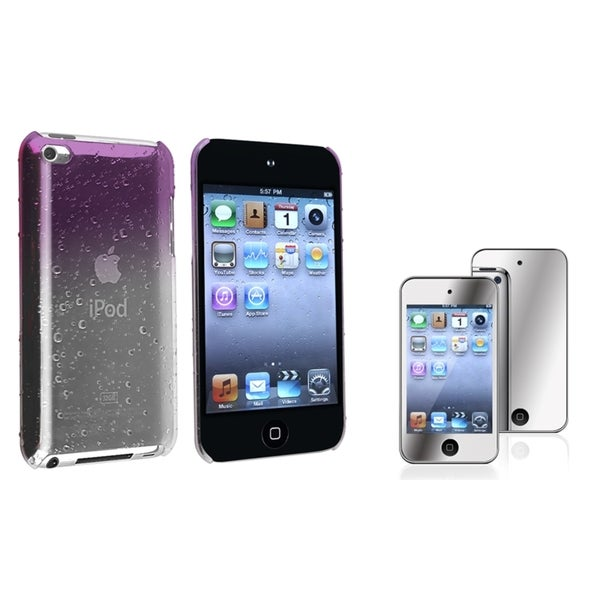 BasAcc Snap-On Case/Screen Protector for Apple iPod Touch Generation 4