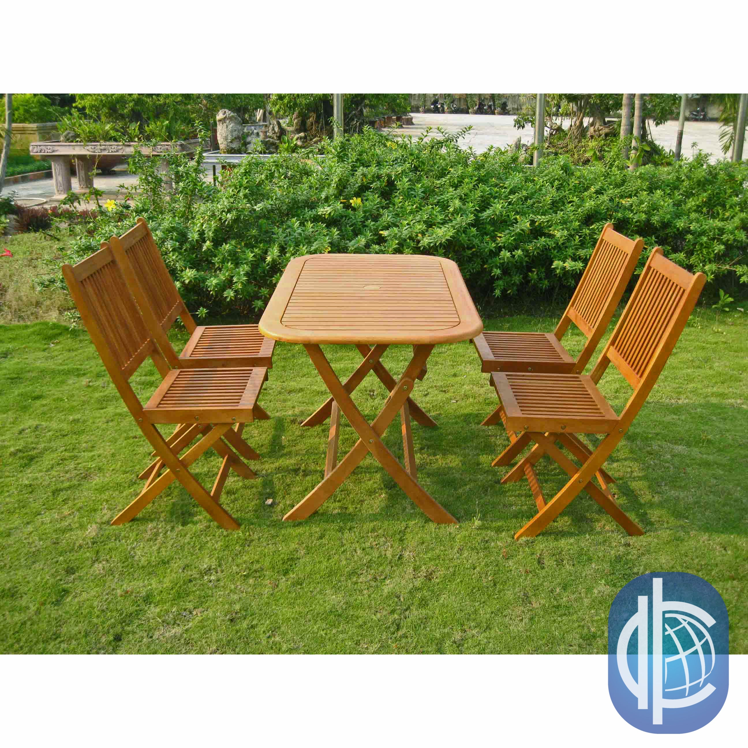 International Caravan Royal Tahiti Melilla 5-Piece Foldin...