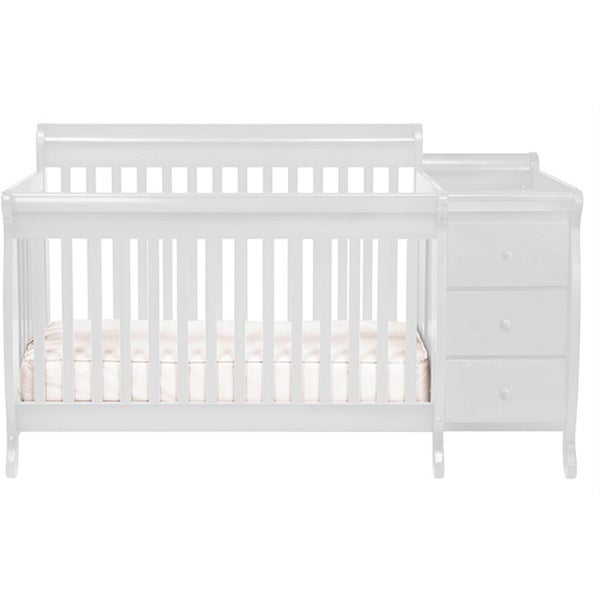 shop davinci kalani crib and changing table combo with toddler rail free shipping today. Black Bedroom Furniture Sets. Home Design Ideas