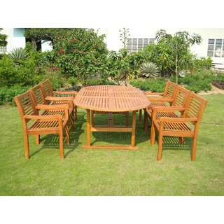 International Caravan Royal Tahiti Salamanca 7-Piece Patio Dining Set