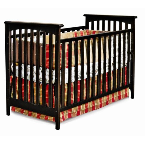 Child Craft Monterey Jamocha 3-in-1 Convertible Crib