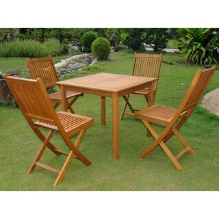 International Caravan Royal Tahiti Antequera 5-piece Outdoor Dining Set