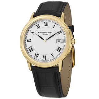 Link to Raymond Weil Men's Tradition Leather Strap Watch Similar Items in Men's Watches