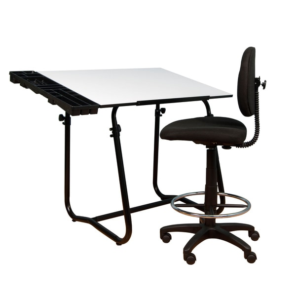 Studio Designs Black Base Tech Pack Table