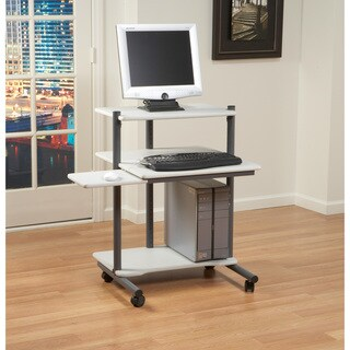 Studio Designs 24 inch Pewter/ Gray Computer Workstation Desk