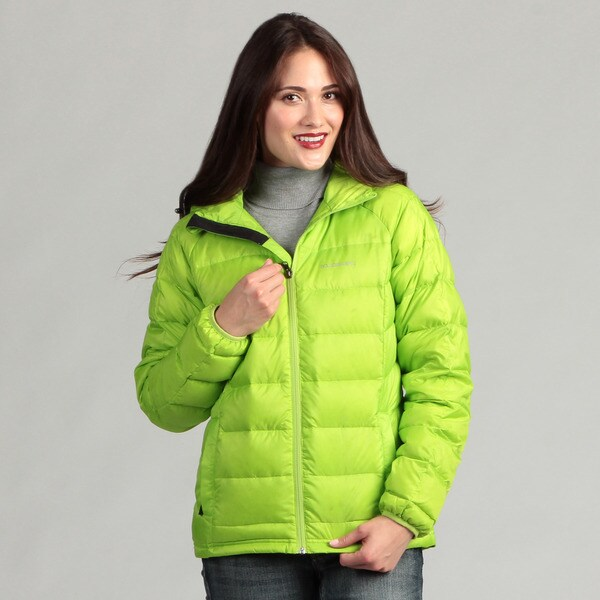 Boulder Gear Women's Summit Lime Green Down Jacket