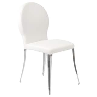 Farid White Dining Chairs (Set of 2)