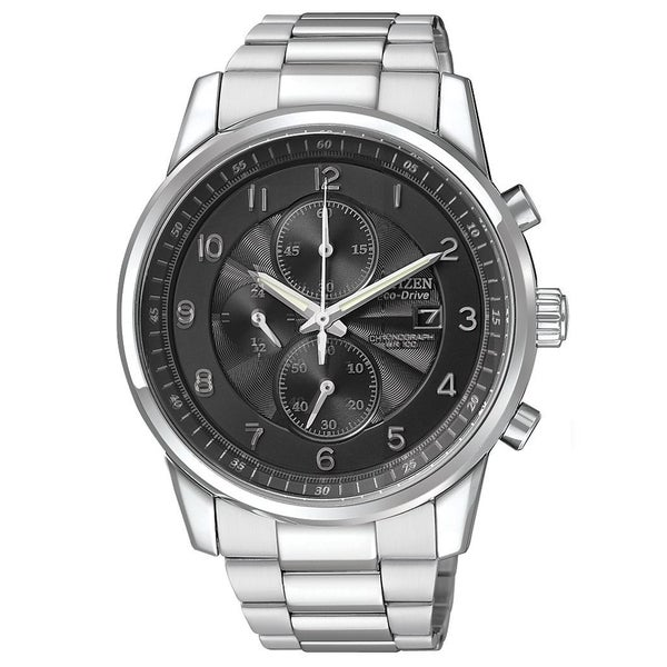 Citizen Men's 'Eco-drive' Stainless Steel Chronograph Watch