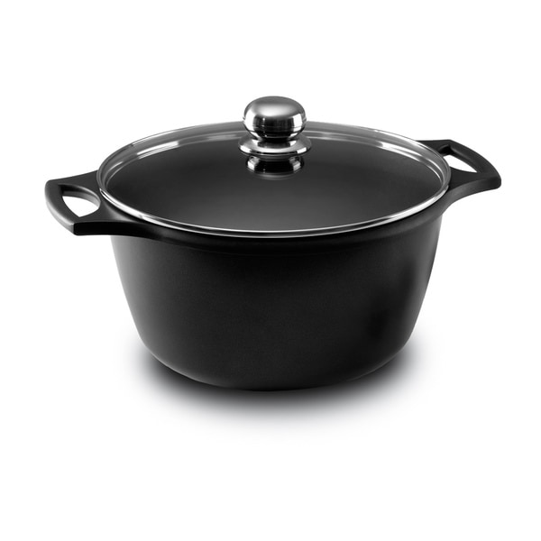 Fundix Black 3.25-quart Saucepan with Lid