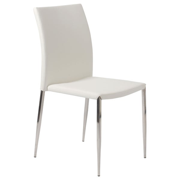 White Diana Stack Chair (Set of 4)