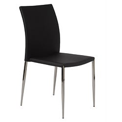Black Diana Stack Chair (Set of 4)