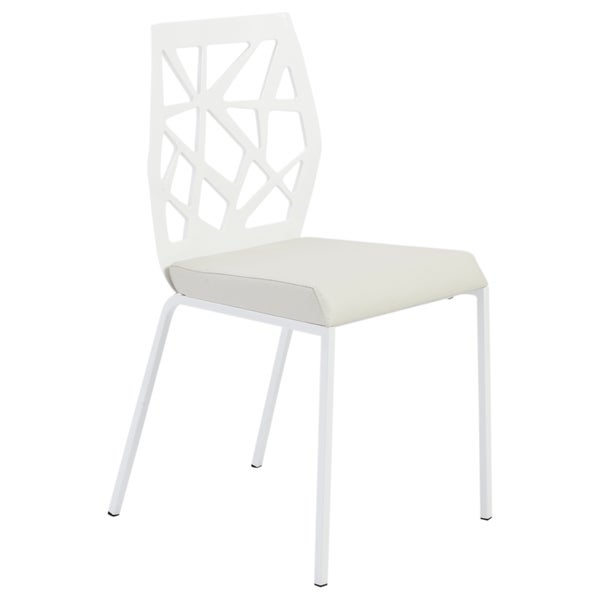 Sophia White Dining Chair (Set Of Two)