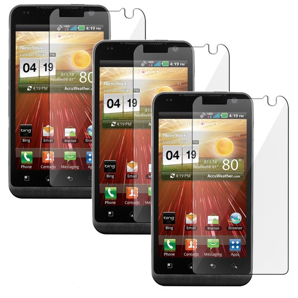 BasAcc Screen Protectors for LG Revolution VS910 (Pack of 3)