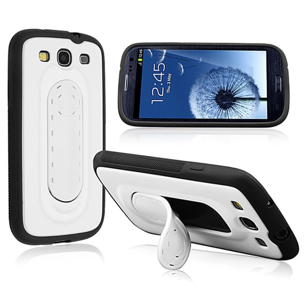 BasAcc Hybrid Case with Horizontal Stand for Samsung Galaxy S III/ S3
