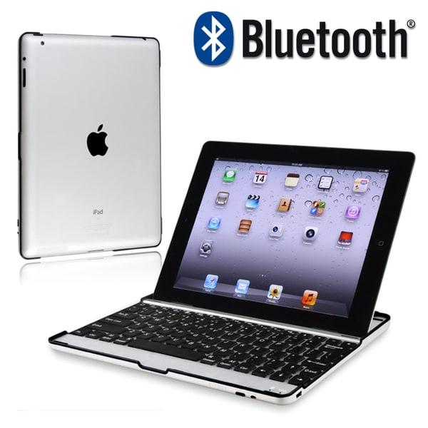 BasAcc Bluetooth Keyboard with Dock for Apple iPad 2/ 3/ New iPad