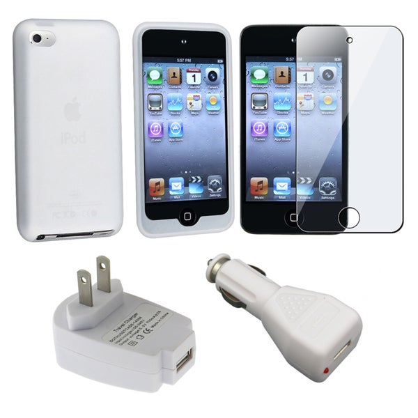INSTEN Chargers/ iPod Case Cover/ Protector for Apple iPod Touch 4th Generation