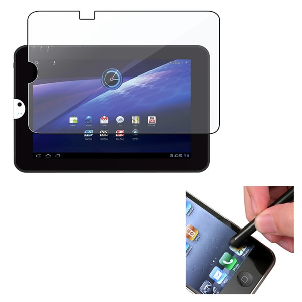 INSTEN Clear Screen Protector/ Stylus for Toshiba Thrive 10.1