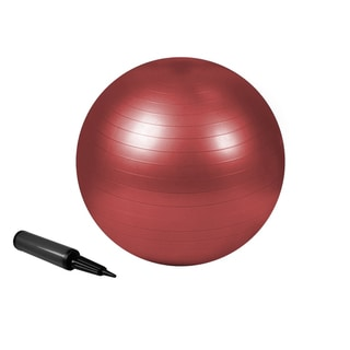Zenzation 55 cm Exercise Ball Red