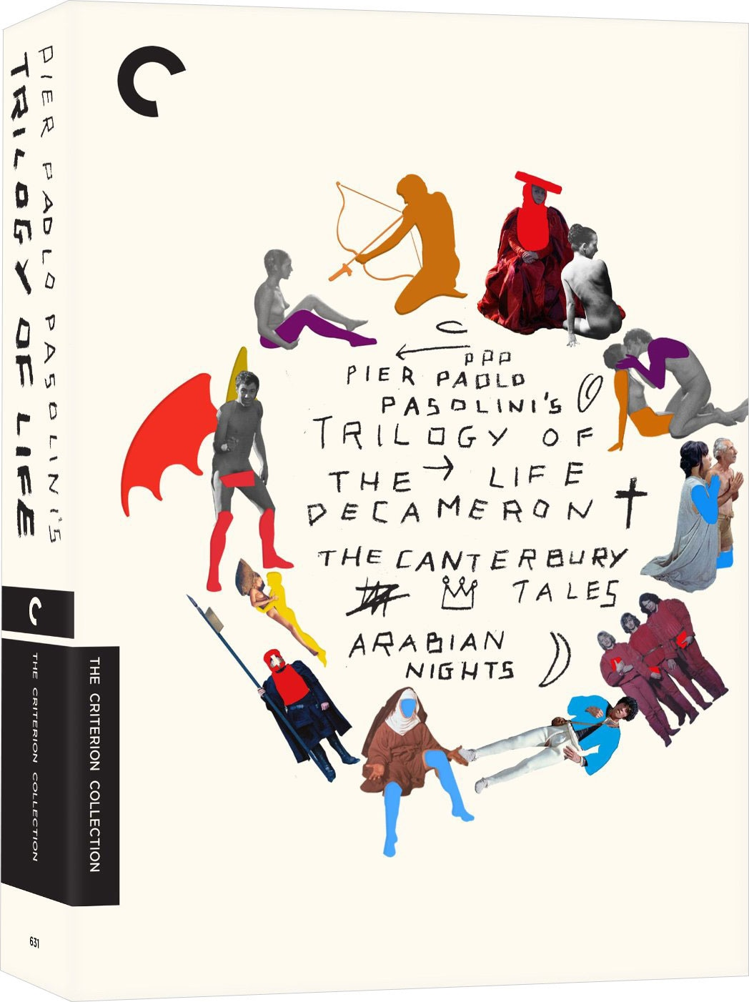 Trilogy of Life Box Set - Criterion Collection (DVD)