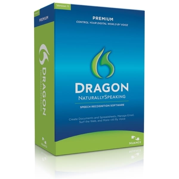 Nuance Dragon NaturallySpeaking v.11.0 Premium With Headset - Complet