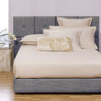 Queen-size Sapphire Upholstered Tile Bed