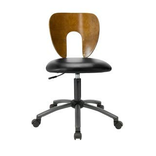 Studio Designs Brown / Pewter Ponderosa Sonoma Chair https://ak1.ostkcdn.com/images/products/7179316/P14668121.jpg?impolicy=medium