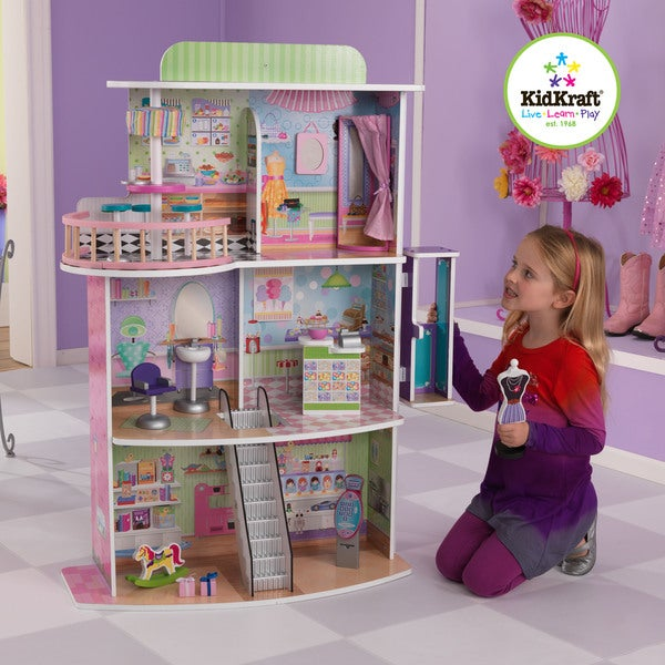 KidKraft Dolls' Shopping Center Play Set