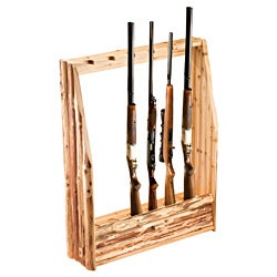 Rush Creek 6-Gun Rack with Storage