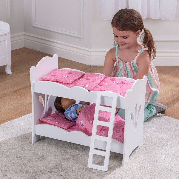 Shop Kidkraft Lil Doll Bunk Bed Free Shipping Today