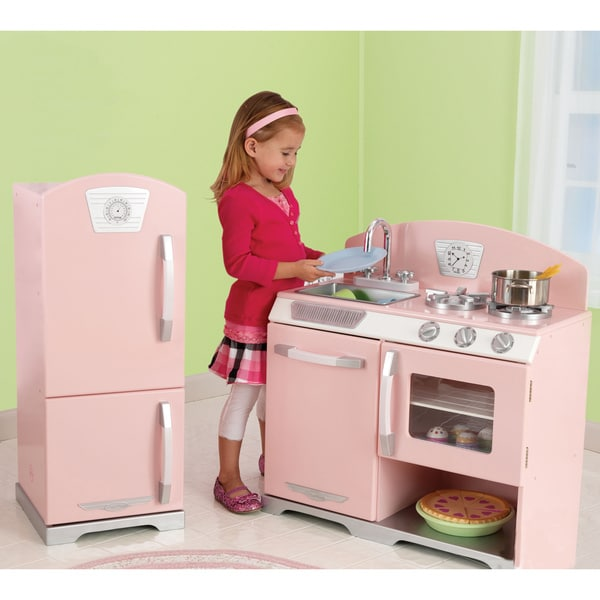 Shop Kidkraft Retro Kitchen And Refrigerator Free