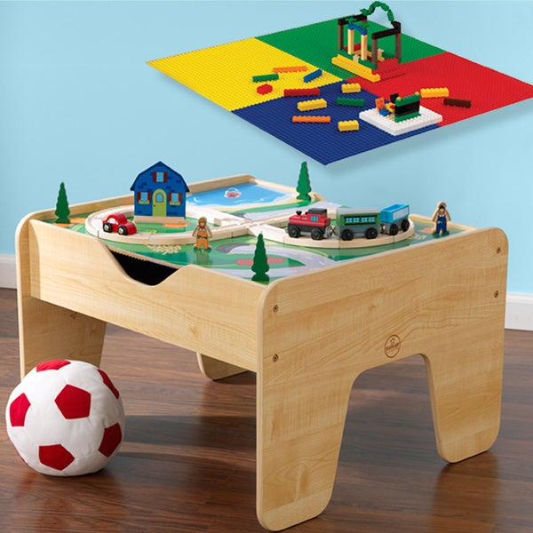 KidKraft 2-in-1 Activity Table with Board 9664350