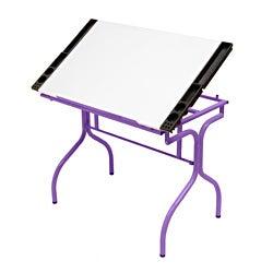 Studio Designs Folding Craft Station Purple / White