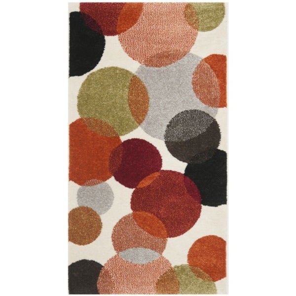 Safavieh Porcello Contemporary Bubbles Ivory Rug (2' x 3'7)
